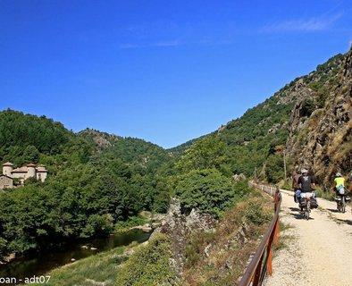 The Dolce Via from La Voulte sur Rhône to Lamastre