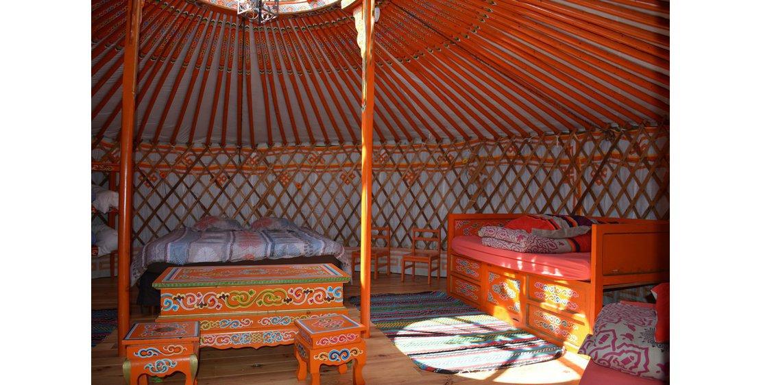 Foto Yurt van de manege