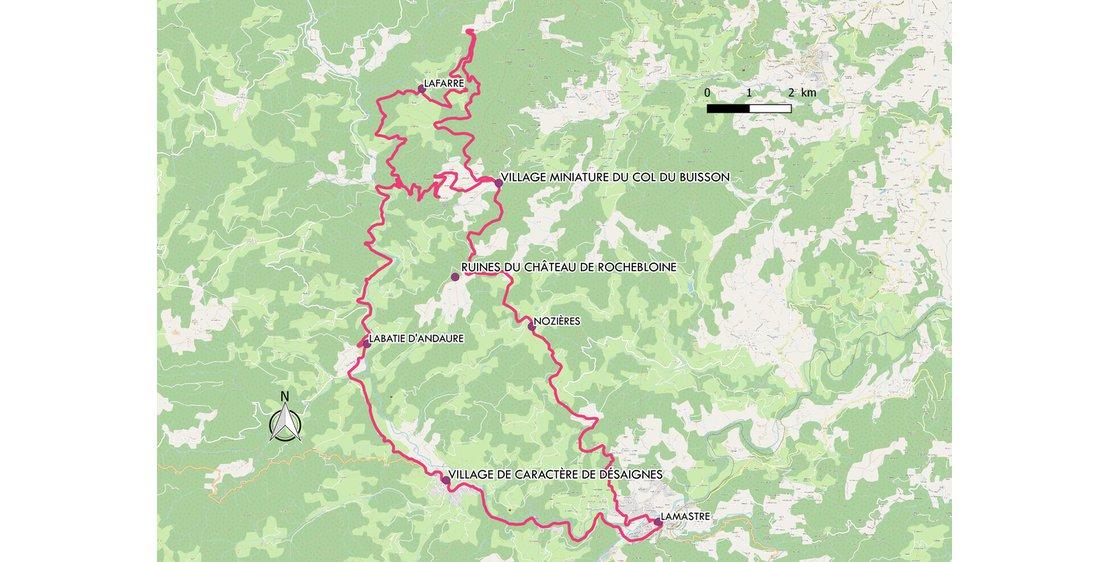 Photo Circuit touristique en voiture - La Vallée du Doux