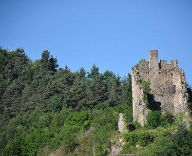 Ruines du château de Peychelard