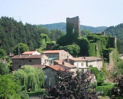 Ruines du château de Retourtour