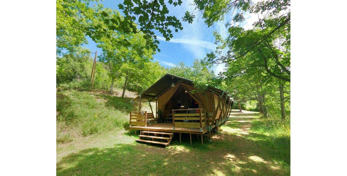 Photo Domaine de Clarat - Les tentes safari lodge