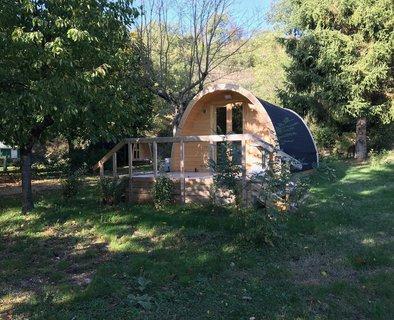 Les insolites au camping les Berges du Doux