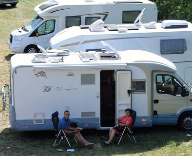 "Aire de camping-cars ""Les Roches"""