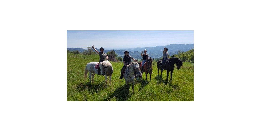 Photo Promenades et randonnées à cheval