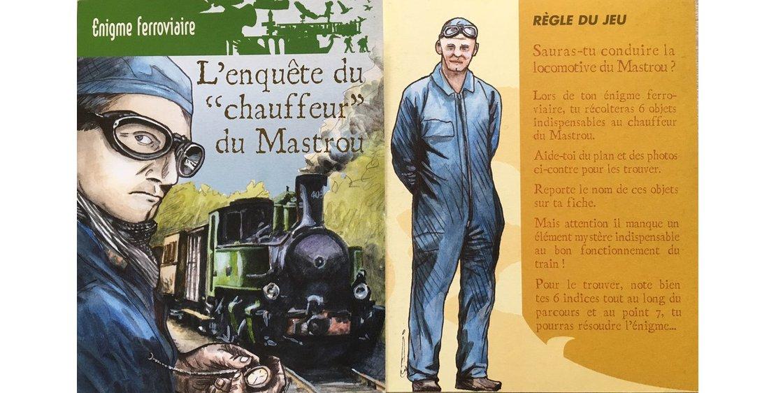 """Photo Rail Enigma: """"The Mastrou Driver's Investigation"""""""