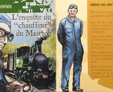 "Rail Enigma: ""The Mastrou Driver's Investigation"""