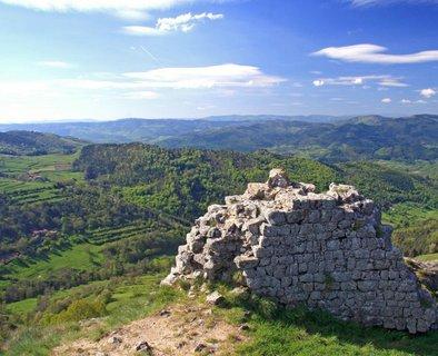 Ruines du château de Rochebloine